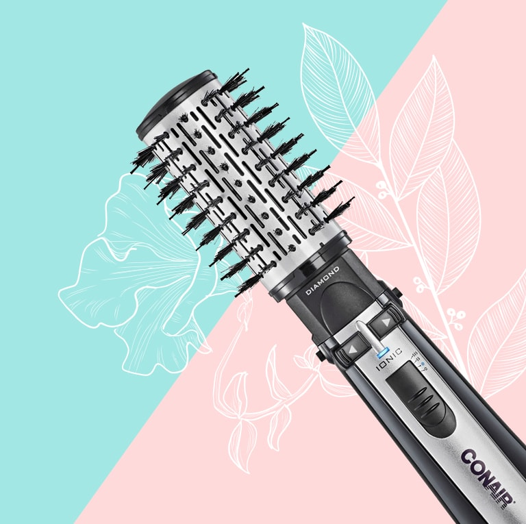 Tudo sobre a Escova Rotativa Conair Rotating Air Brush Titanium Polishop